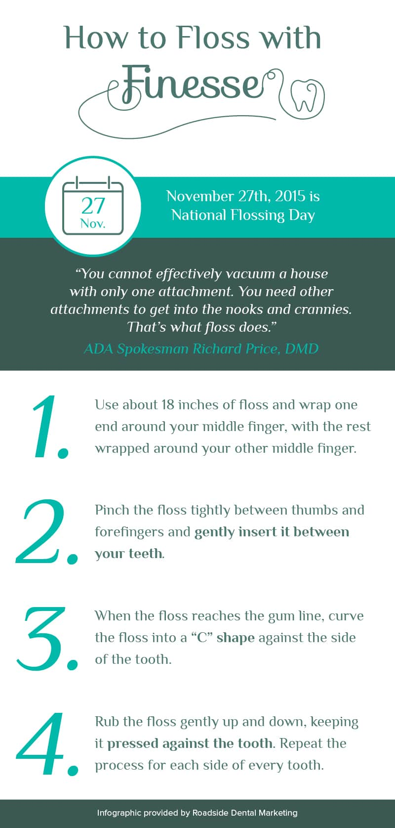 15114 Blog Infographic - How to Floss
